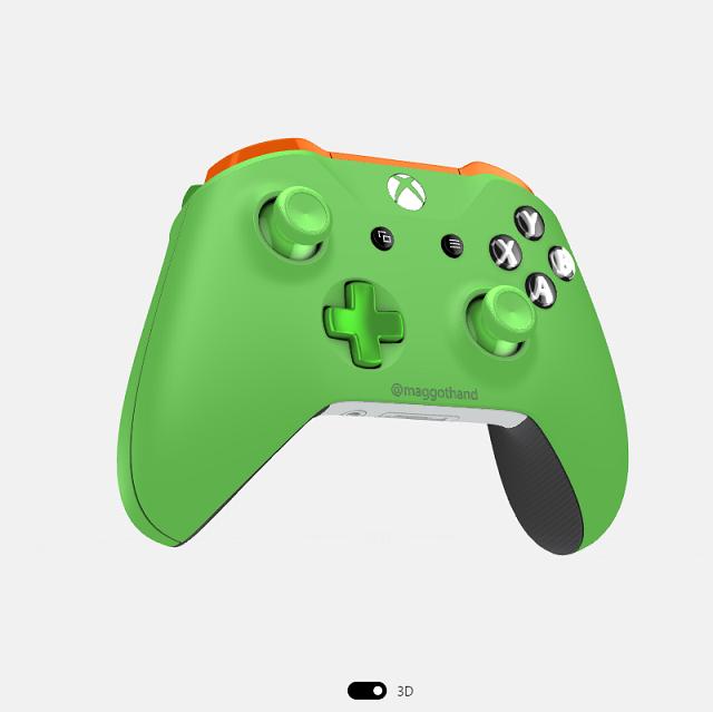 Xbox Design Lab カラフルなXBOXコントローラーがオーダーできる