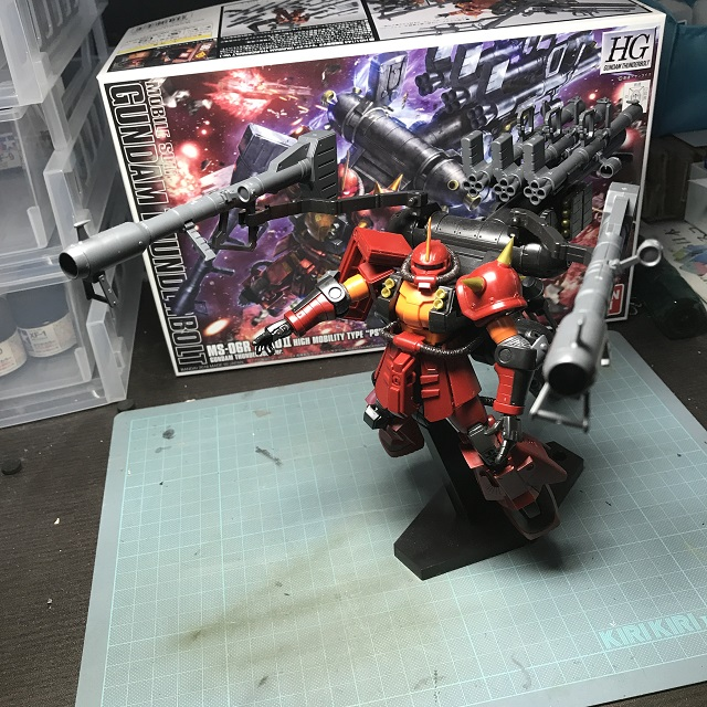 "MS-06R ZAKUII HIGH MOBLITY TYPE ""PSYCHO ZAKU"" (5)"