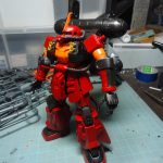 "1/144 MS-06R ZAKUII HIGH MOBLITY TYPE ""PSYCHO ZAKU"" (3)"