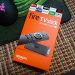 Amazon FireTV Stick(2017モデル)が届いた