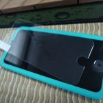 ESR iPhone 8 ガラスフィルムを貼ってみた