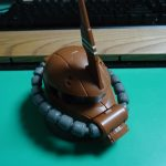 EXCEED MODEL ZAKU HEAD 3(ガルマ・サビ大佐 専用機)