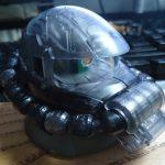 EXCEED MODEL ZAKU HEAD 3(シークレット MS-06R 黒い三連星クリアバージョン)