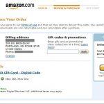 米国AmazonでXBOX Gift Cardを購入する手順