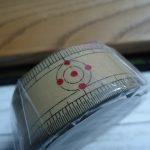 マスキングテープを使ってみた(mt 和定規)