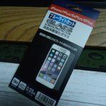100均の液晶保護強化ガラスを貼ってみた(iPhone7Plus/6sPlus/6Plus ブルーライトカット)