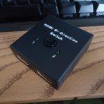 NIERBO HDMI 双方向切替器 レビュー(電源不要のHDMIセレクター)