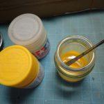 クリアイエローで上塗りは重要です 1/144 HG UNICORN GUNDAM 03 PHENEX (4)