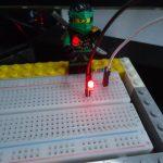 Window10 IoT Coreのチュートリアル LEDの点滅 を実験してみた
