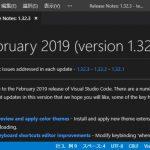 VisualStudioCode 1.32 気になった機能レビュー