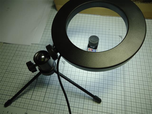 6インチ LEDリングライト