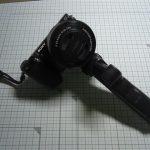 METRIX 卓上三脚/ミニ三脚 カメラグリップにもなる 小型 軽量 ミニテーブルポッド ブラック WT0117BK レビュー