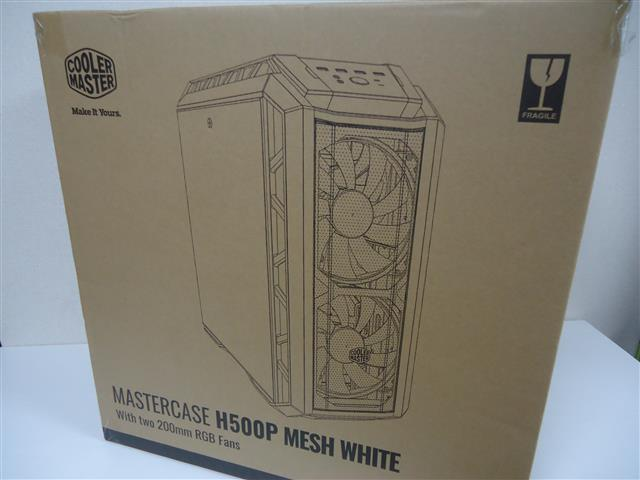 CoolerMaster H500P MESH WHITE 開封レビュー前編(令和PC製作日記 製作編)