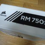 CORSAIR 電源ユニット RM750 ホワイト 開封レビュー(令和PC製作日記 製作編)