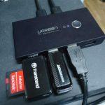 UGREEN 3.0 高速転送 USB 切り替え PC2台用 レビュー
