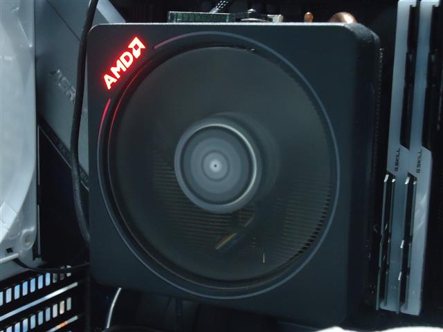 AMD Wraith PrismクーラーのリングLEDを消灯させる