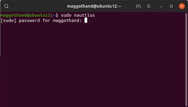 Ubuntuのファイルやフォルダーを管理権限で開く