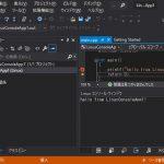 Visual Studio Community 2019 でLinuxアプリをリモートデバックする
