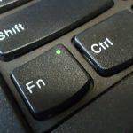 ThinkPad X260 Fnキーが動作しない時の対処法