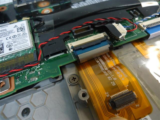 ThinkPad X260 英語キーボード 交換手順(後編)