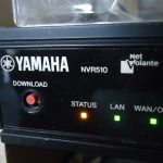 NVR510で[STATUS] LEDが点灯した時の対処法
