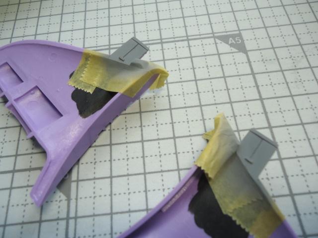 1/1200 ジオン軍 ガウ攻撃空母 製作記 7(発艦デッキの塗装など)