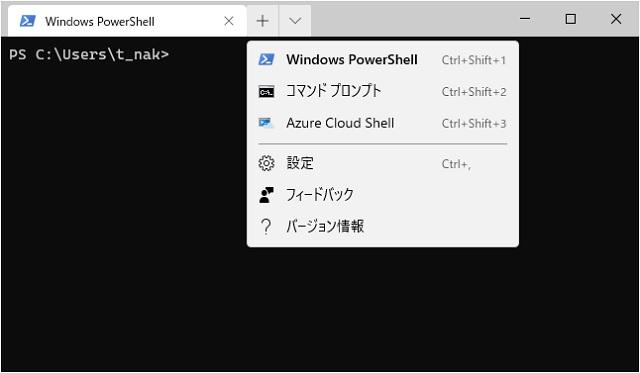 Windows Terminalの設定ファイル(settins.json)の場所