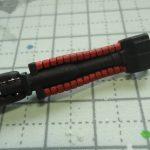 HG 1/144 THE-O ジ・オ製作記 23(動力パイプのスミ入れ)