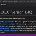 VisualStudioCode 1.46 気になった機能レビュー