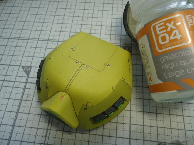 HG 1/144 THE-O ジ・オ製作記 32 (つや消しトップコート塗装)