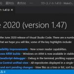 VisualStudioCode 1.48 気になった機能レビュー