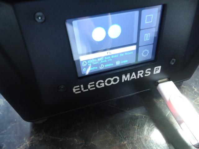 ELEGOO MARS PRO のUSBメモリーフォーマット