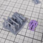 3Dプリンター 1/1200 MS-06 ザクII ORGIN版 製作日誌(1日目)デザインと試し印刷