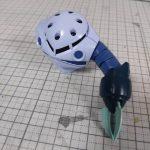 3Dプリンター 1/144 モビルダイバー ゼーゴック製作日誌(2日目)右腕の印刷