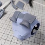 3Dプリンター 1/144 モビルダイバー ゼーゴック製作日誌(11日目)バックパックの作成