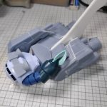 3Dプリンター 1/144 モビルダイバー ゼーゴック製作日誌(12日目)ダイブ・マヌーバ・ユニット仮組み