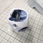 3Dプリンター 1/144 モビルダイバー ゼーゴック製作日誌(14日目)捨てサフで合わせ目確認
