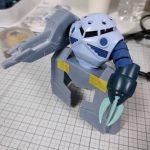 3Dプリンター 1/144 モビルダイバー ゼーゴック製作日誌(3日目)ダイブ・マヌーバ・ユニットの制作(前編)