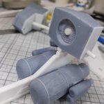 3Dプリンター 1/144 モビルダイバー ゼーゴック製作日誌(8日目)プチブロックでジョイント作成