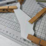 3Dプリンター 1/144 モビルダイバー ゼーゴック製作日誌(9日目)バインダー(尾翼)作成
