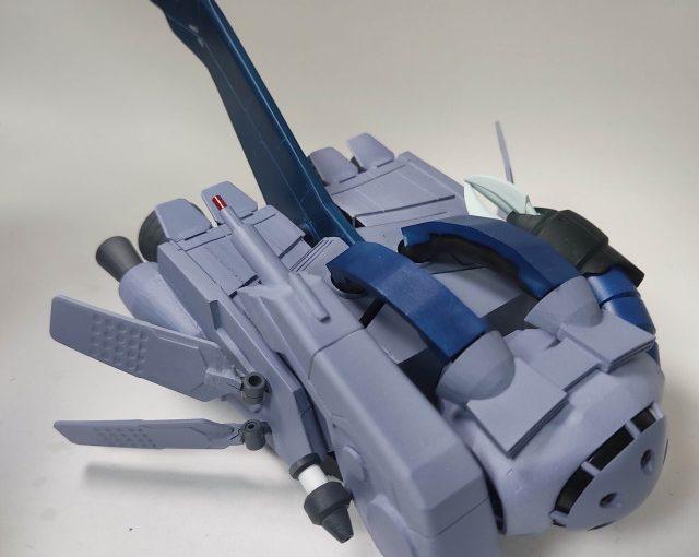 3Dプリンター 1/144 モビルダイバー ゼーゴック製作日誌(25日目)ダイブ・マヌーバー・ユニットの完成