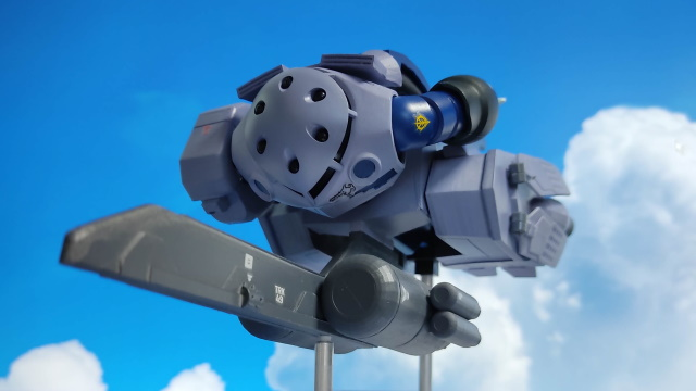 3Dプリンター 1/144 モビルダイバー ゼーゴック製作日誌(29日目)ジャブロー上空に海原を見たを再現