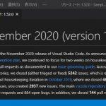 VisualStudioCode 1.52 気になった機能レビュー