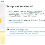 Python for Windowsをすべてのユーザーでインストールする手順
