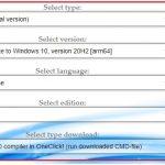 Windows10 ARM64版のインストールイメージをダウンロードする方法