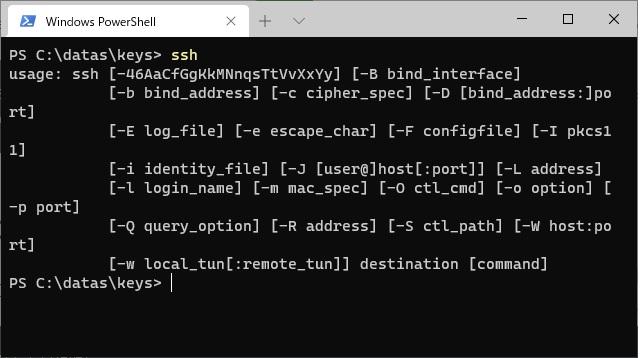 Windows10でSSH鍵ペアを作成する手順(SSH-KEYGEN)