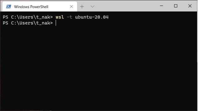 WSLでUbuntuを停止(シャットダウン)する手順(WSL2)