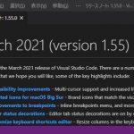 VisualStudioCode 1.55 気になった機能レビュー