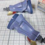 1/144 HG改造 MS-07B マ・クベ専用グフ製作日誌(17日目)スミ入れ