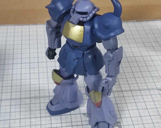 1/144 HG改造 MS-07B マ・クベ専用グフ製作日誌(19日目)両腕の組立て